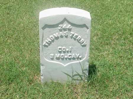 TERRY (VETERAN 1812), THOMAS - Pulaski County, Arkansas   THOMAS TERRY (VETERAN 1812) - Arkansas Gravestone Photos