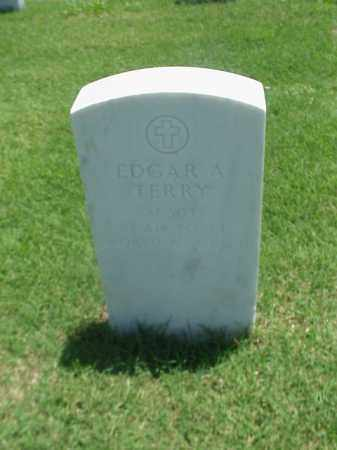 TERRY (VETERAN 2 WARS), EDGAR A - Pulaski County, Arkansas | EDGAR A TERRY (VETERAN 2 WARS) - Arkansas Gravestone Photos