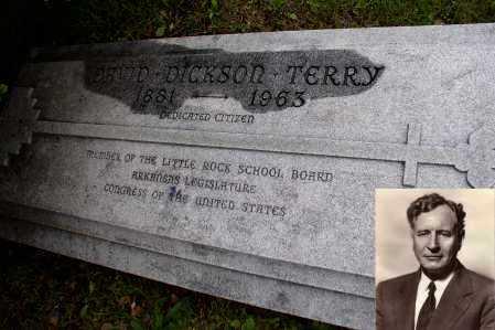 TERRY (FAMOUS), DAVID DICKSON - Pulaski County, Arkansas | DAVID DICKSON TERRY (FAMOUS) - Arkansas Gravestone Photos
