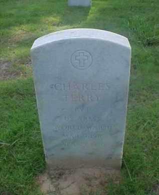 TERRY (VETERAN WWII), CHARLES - Pulaski County, Arkansas | CHARLES TERRY (VETERAN WWII) - Arkansas Gravestone Photos