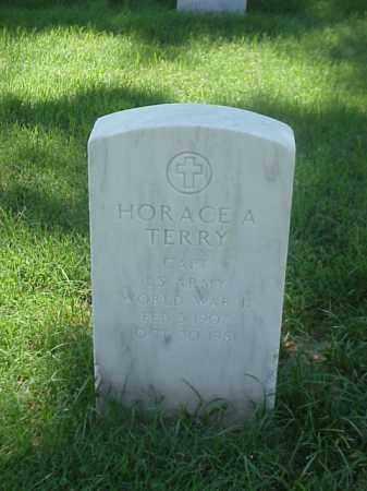 TERRY (VETERAN WWII), HORACE A - Pulaski County, Arkansas   HORACE A TERRY (VETERAN WWII) - Arkansas Gravestone Photos