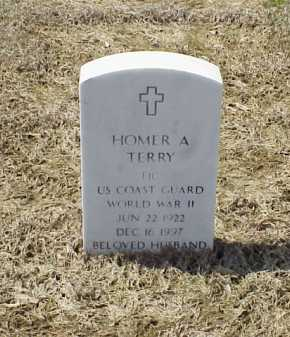 TERRY (VETERAN WWII), HOMER A - Pulaski County, Arkansas | HOMER A TERRY (VETERAN WWII) - Arkansas Gravestone Photos