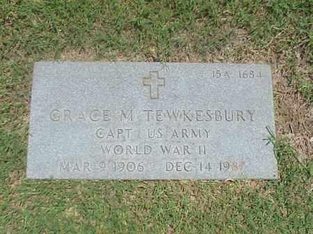 TEWKESBURY (VETERAN WWII), GRACE M - Pulaski County, Arkansas | GRACE M TEWKESBURY (VETERAN WWII) - Arkansas Gravestone Photos