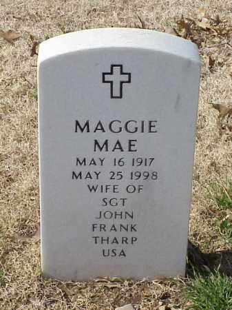 THARP, MAGGIE MAE - Pulaski County, Arkansas | MAGGIE MAE THARP - Arkansas Gravestone Photos