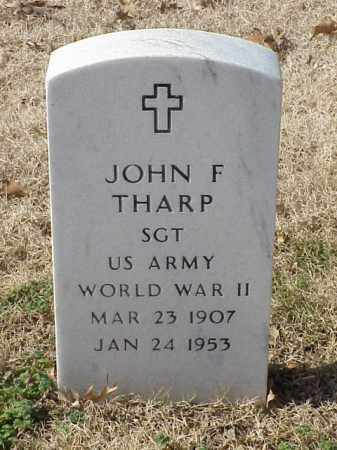 THARP (VETERAN WWII), JOHN FRANK - Pulaski County, Arkansas   JOHN FRANK THARP (VETERAN WWII) - Arkansas Gravestone Photos