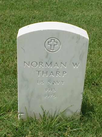 THARP (VETERAN WWII), NORMAN W - Pulaski County, Arkansas | NORMAN W THARP (VETERAN WWII) - Arkansas Gravestone Photos