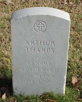 THARPS (VETERAN WWII), ARTHUR - Pulaski County, Arkansas | ARTHUR THARPS (VETERAN WWII) - Arkansas Gravestone Photos