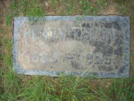 THEBY, HENRY - Pulaski County, Arkansas | HENRY THEBY - Arkansas Gravestone Photos