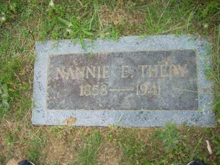 SHAW THEBY, NANNIE ELIZABETH - Pulaski County, Arkansas | NANNIE ELIZABETH SHAW THEBY - Arkansas Gravestone Photos