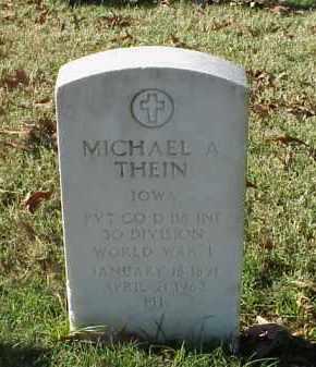 THEIN (VETERAN WWI), MICHAEL A - Pulaski County, Arkansas | MICHAEL A THEIN (VETERAN WWI) - Arkansas Gravestone Photos