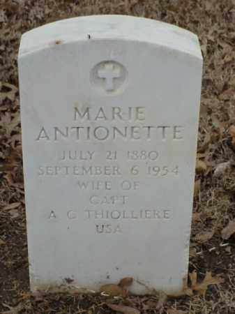 THIOLLIERE, MARIE ANTIONETTE - Pulaski County, Arkansas | MARIE ANTIONETTE THIOLLIERE - Arkansas Gravestone Photos