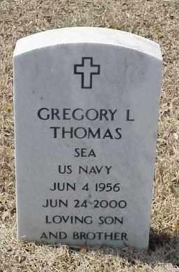 THOMAS  (VETERAN), GREGORY L - Pulaski County, Arkansas   GREGORY L THOMAS  (VETERAN) - Arkansas Gravestone Photos