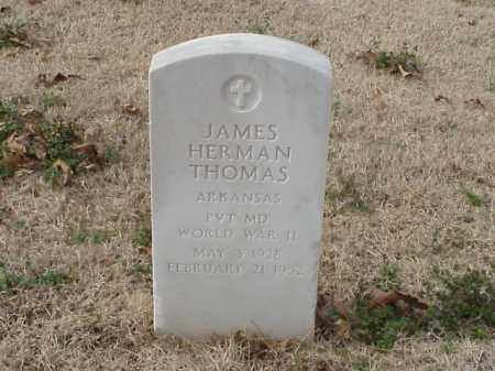 THOMAS  (VETERAN WWII), JAMES HERMAN - Pulaski County, Arkansas | JAMES HERMAN THOMAS  (VETERAN WWII) - Arkansas Gravestone Photos