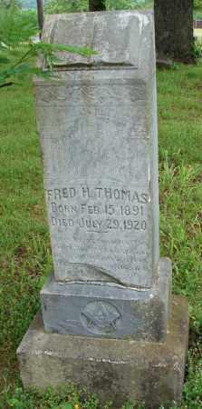 THOMAS, FRED H. - Pulaski County, Arkansas | FRED H. THOMAS - Arkansas Gravestone Photos