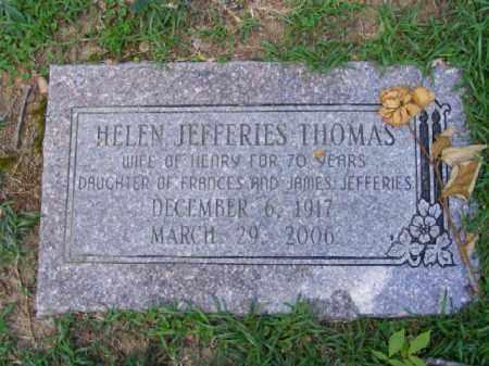 THOMAS, HELEN - Pulaski County, Arkansas | HELEN THOMAS - Arkansas Gravestone Photos