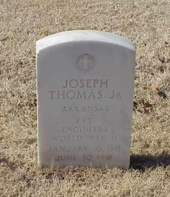 THOMAS, JR (VETERAN WWII), JOSEPH - Pulaski County, Arkansas   JOSEPH THOMAS, JR (VETERAN WWII) - Arkansas Gravestone Photos