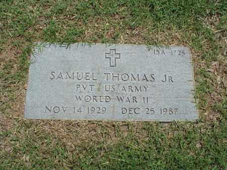 THOMAS, JR (VETERAN WWII), SAMUEL - Pulaski County, Arkansas | SAMUEL THOMAS, JR (VETERAN WWII) - Arkansas Gravestone Photos