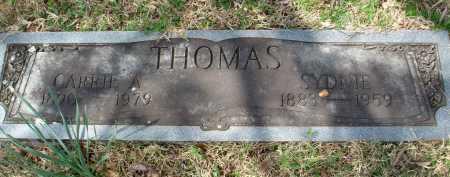 KAYSER THOMAS, CAROLINA AUGUSTA - Pulaski County, Arkansas | CAROLINA AUGUSTA KAYSER THOMAS - Arkansas Gravestone Photos
