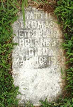 THOMAS, MATTIE - Pulaski County, Arkansas | MATTIE THOMAS - Arkansas Gravestone Photos