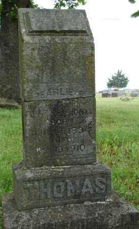 THOMAS, PEARLIE E. - Pulaski County, Arkansas | PEARLIE E. THOMAS - Arkansas Gravestone Photos