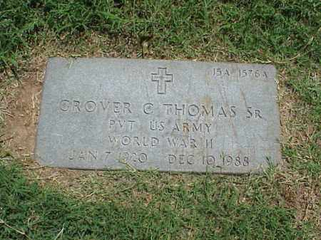 THOMAS, SR (VETERAN WWII), GROVER C - Pulaski County, Arkansas | GROVER C THOMAS, SR (VETERAN WWII) - Arkansas Gravestone Photos