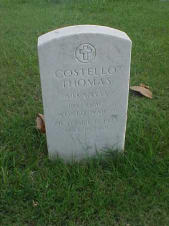 THOMAS (VETERAN 2 WARS), COSTELLO - Pulaski County, Arkansas | COSTELLO THOMAS (VETERAN 2 WARS) - Arkansas Gravestone Photos