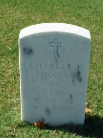THOMAS (VETERAN), CHARLES J - Pulaski County, Arkansas | CHARLES J THOMAS (VETERAN) - Arkansas Gravestone Photos