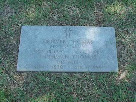 THOMAS, EARSLEAN - Pulaski County, Arkansas | EARSLEAN THOMAS - Arkansas Gravestone Photos