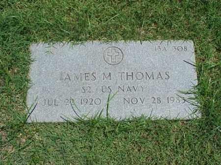 THOMAS (VETERAN), JAMES M - Pulaski County, Arkansas | JAMES M THOMAS (VETERAN) - Arkansas Gravestone Photos