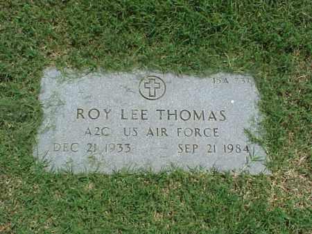 THOMAS (VETERAN), ROY LEE - Pulaski County, Arkansas   ROY LEE THOMAS (VETERAN) - Arkansas Gravestone Photos