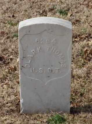 THOMAS (VETERAN UNION), CLARK - Pulaski County, Arkansas | CLARK THOMAS (VETERAN UNION) - Arkansas Gravestone Photos