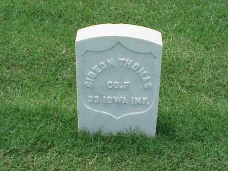 THOMAS (VETERAN UNION), GIDEON - Pulaski County, Arkansas | GIDEON THOMAS (VETERAN UNION) - Arkansas Gravestone Photos