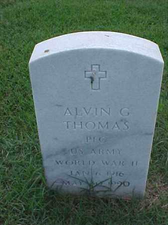 THOMAS (VETERAN WWII), ALVIN G - Pulaski County, Arkansas | ALVIN G THOMAS (VETERAN WWII) - Arkansas Gravestone Photos
