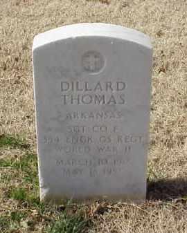 THOMAS (VETERAN WWII), DILLARD - Pulaski County, Arkansas | DILLARD THOMAS (VETERAN WWII) - Arkansas Gravestone Photos