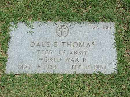 THOMAS (VETERAN WWII), DALE B - Pulaski County, Arkansas | DALE B THOMAS (VETERAN WWII) - Arkansas Gravestone Photos