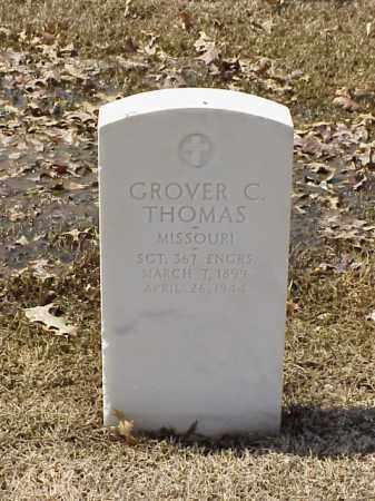 THOMAS (VETERAN WWI), GROVER C - Pulaski County, Arkansas | GROVER C THOMAS (VETERAN WWI) - Arkansas Gravestone Photos