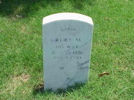 THOMASSON, RUBY M - Pulaski County, Arkansas | RUBY M THOMASSON - Arkansas Gravestone Photos