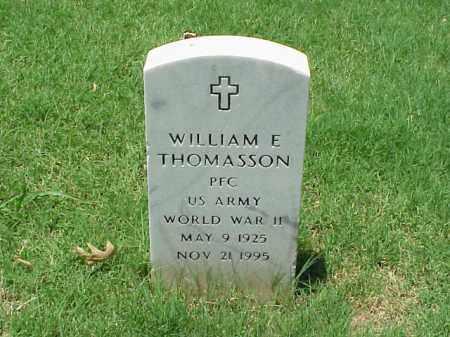 THOMASSON (VETERAN WWII), WILLIAM E - Pulaski County, Arkansas | WILLIAM E THOMASSON (VETERAN WWII) - Arkansas Gravestone Photos