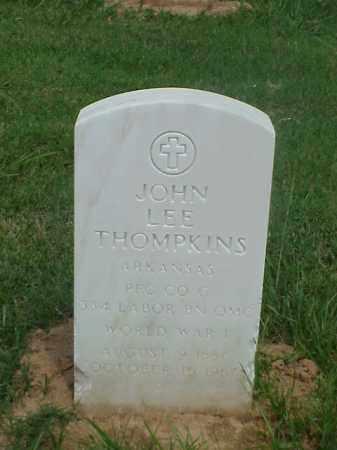 THOMPKINS (VETERAN WWI), JOHN LEE - Pulaski County, Arkansas   JOHN LEE THOMPKINS (VETERAN WWI) - Arkansas Gravestone Photos