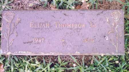 THOMPSON, ELIJAH - Pulaski County, Arkansas | ELIJAH THOMPSON - Arkansas Gravestone Photos