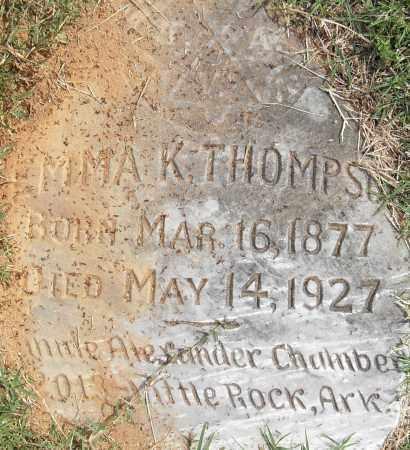 THOMPSON, EMMA K - Pulaski County, Arkansas | EMMA K THOMPSON - Arkansas Gravestone Photos