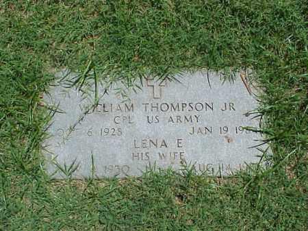 THOMPSON, JR (VETERAN KOR), WILLIAM - Pulaski County, Arkansas | WILLIAM THOMPSON, JR (VETERAN KOR) - Arkansas Gravestone Photos