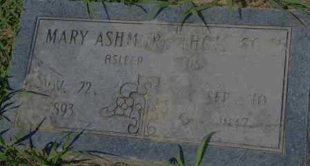 ASHMORE THOMPSON, MARY - Pulaski County, Arkansas | MARY ASHMORE THOMPSON - Arkansas Gravestone Photos