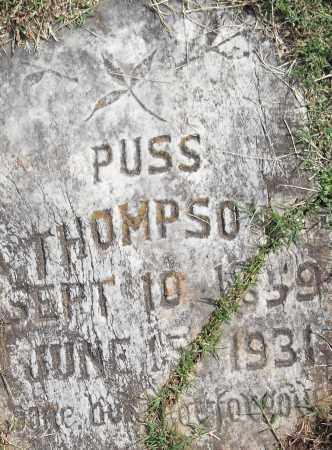 THOMPSON, PUSS - Pulaski County, Arkansas | PUSS THOMPSON - Arkansas Gravestone Photos