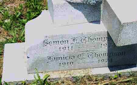 THOMPSON, LUNICIA T. - Pulaski County, Arkansas | LUNICIA T. THOMPSON - Arkansas Gravestone Photos