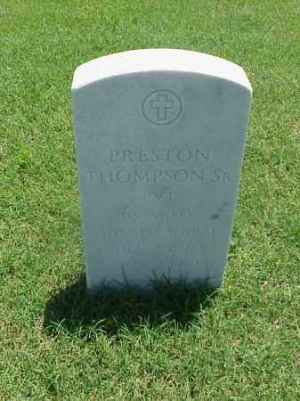 THOMPSON, SR (VETERAN WWI), PRESTON - Pulaski County, Arkansas | PRESTON THOMPSON, SR (VETERAN WWI) - Arkansas Gravestone Photos