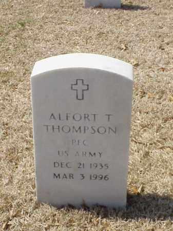 THOMPSON (VETERAN), ALFORT T - Pulaski County, Arkansas | ALFORT T THOMPSON (VETERAN) - Arkansas Gravestone Photos