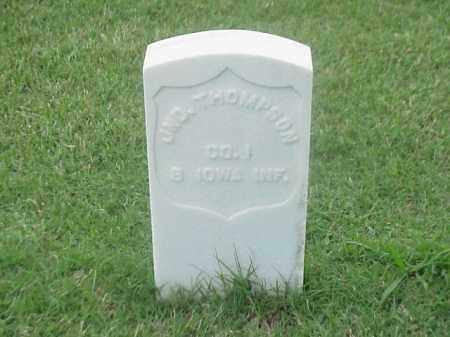 THOMPSON (VETERAN UNION), JOHN - Pulaski County, Arkansas | JOHN THOMPSON (VETERAN UNION) - Arkansas Gravestone Photos