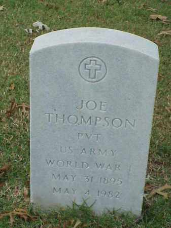 THOMPSON (VETERAN WWI), JOE - Pulaski County, Arkansas | JOE THOMPSON (VETERAN WWI) - Arkansas Gravestone Photos