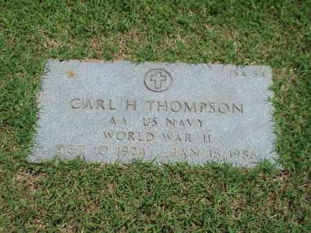 THOMPSON (VETERAN WWII), CARL H - Pulaski County, Arkansas | CARL H THOMPSON (VETERAN WWII) - Arkansas Gravestone Photos